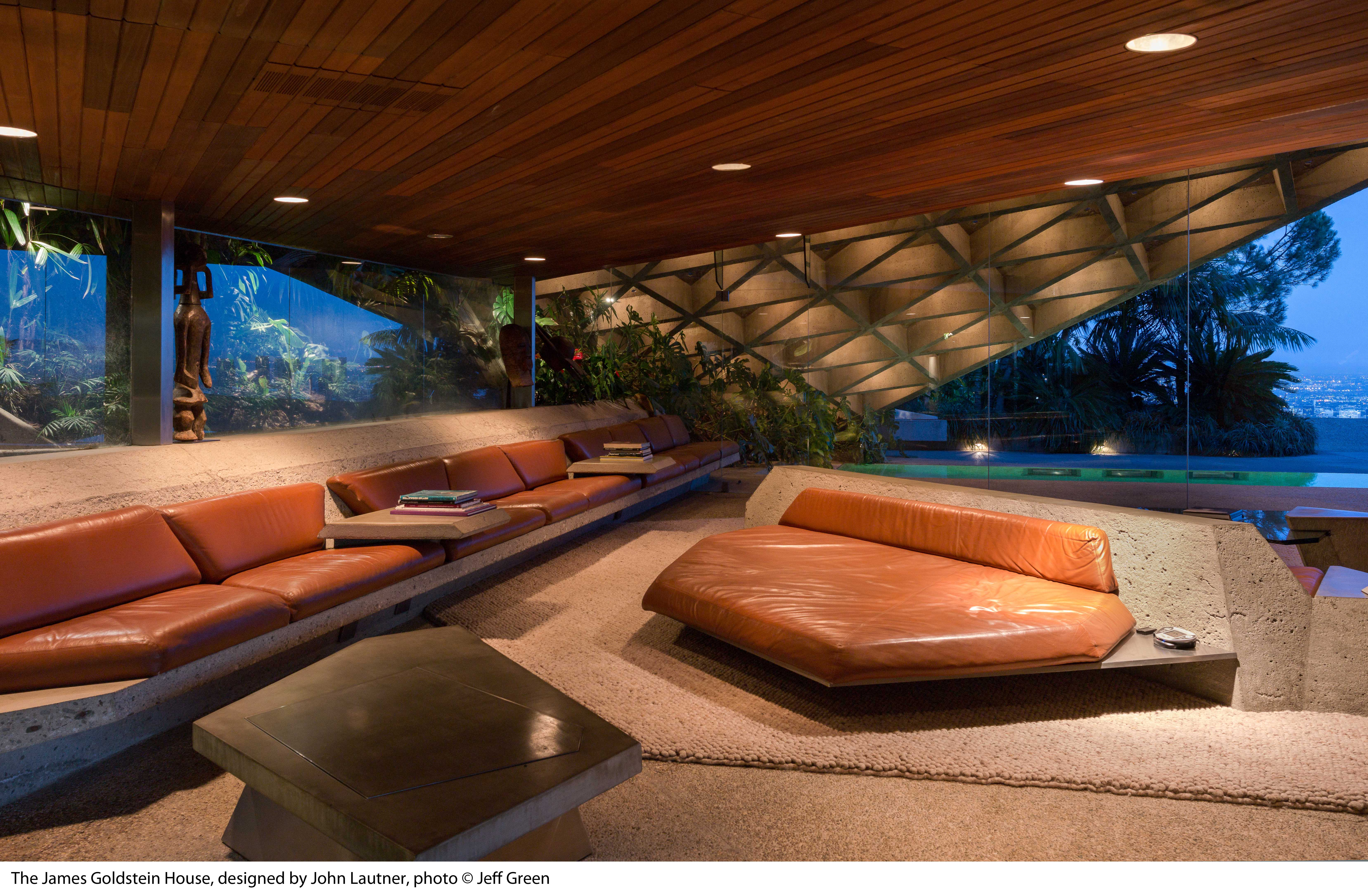 Lautner S Otherworldly Beverly Hills House Goes To Lacma